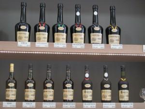 Präsentation der Flaschen