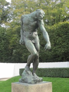 Rodin Skulpture klein
