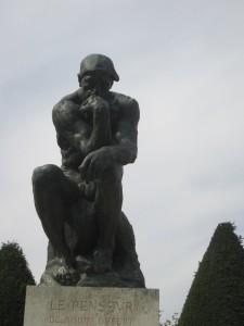 Rodin der Denker close klein