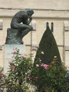Rodin der Denker klein
